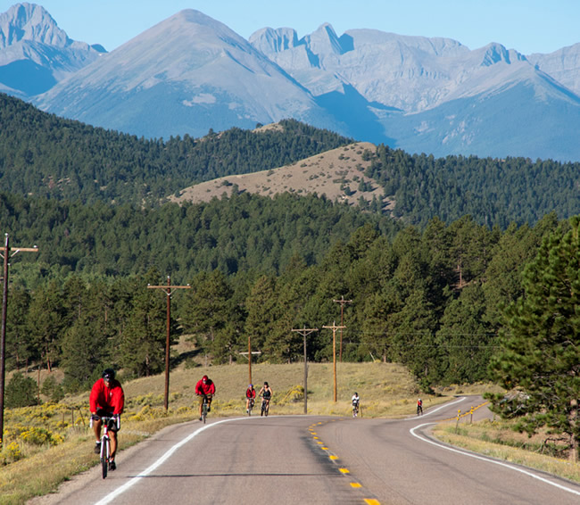 Westcliffe Home and Ranch,Ride the Rockies through Westcliffe and Hardscrabble Canyon