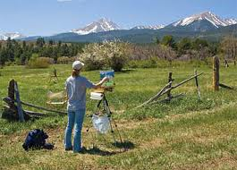 Westcliffe Home and Ranch,Westcliffe artists painting the Colorado Rocky Mountains